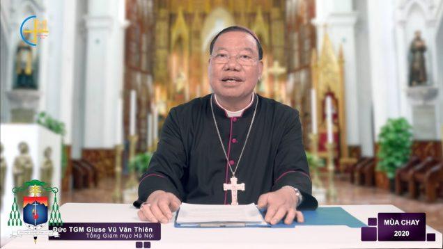 Thông Điệp Mùa Chay 2020 – Đức TGM Giuse Vũ Văn Thiên